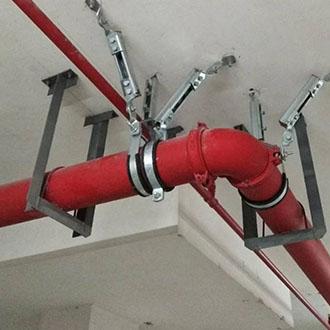 给排水单管侧向支架