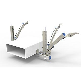 电气桥架纵向支吊架