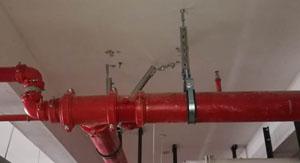 红河州给水抗震支吊架安装