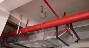 昆明市管道抗震支架安装