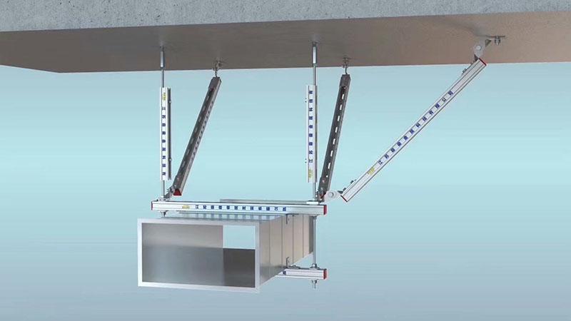 通风系统抗震支吊架