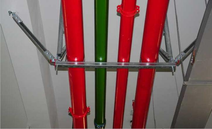 多管风管抗震支架