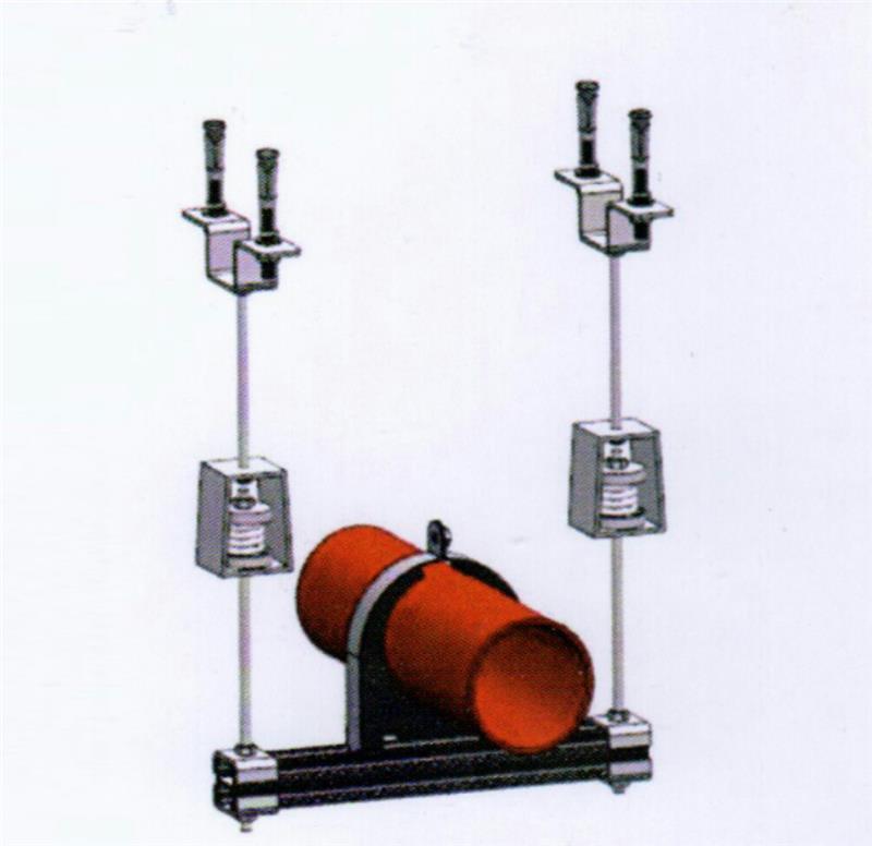 单管风管抗震支架