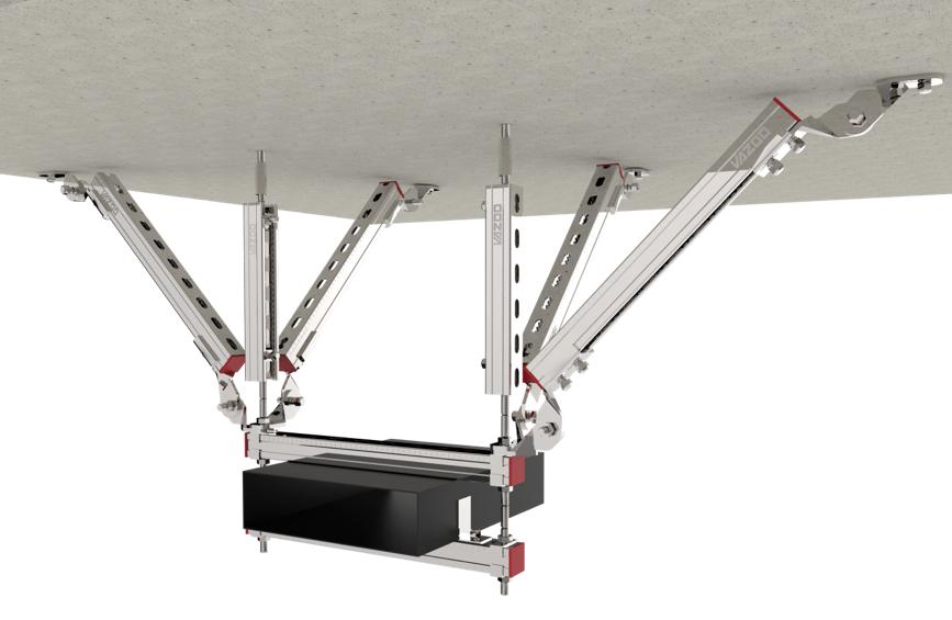 暖通风管抗震支架产品图片