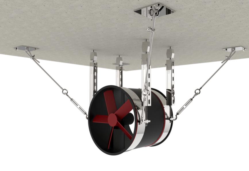 暖通设备抗震支架产品图片