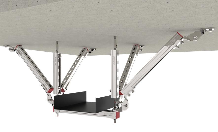 电气桥架抗震支架产品图片