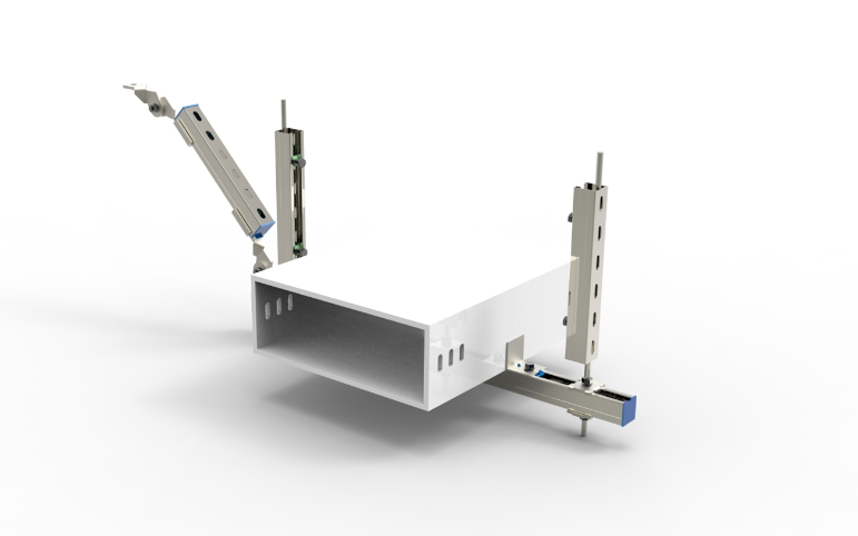 电气桥架侧向抗震支吊架产品图片