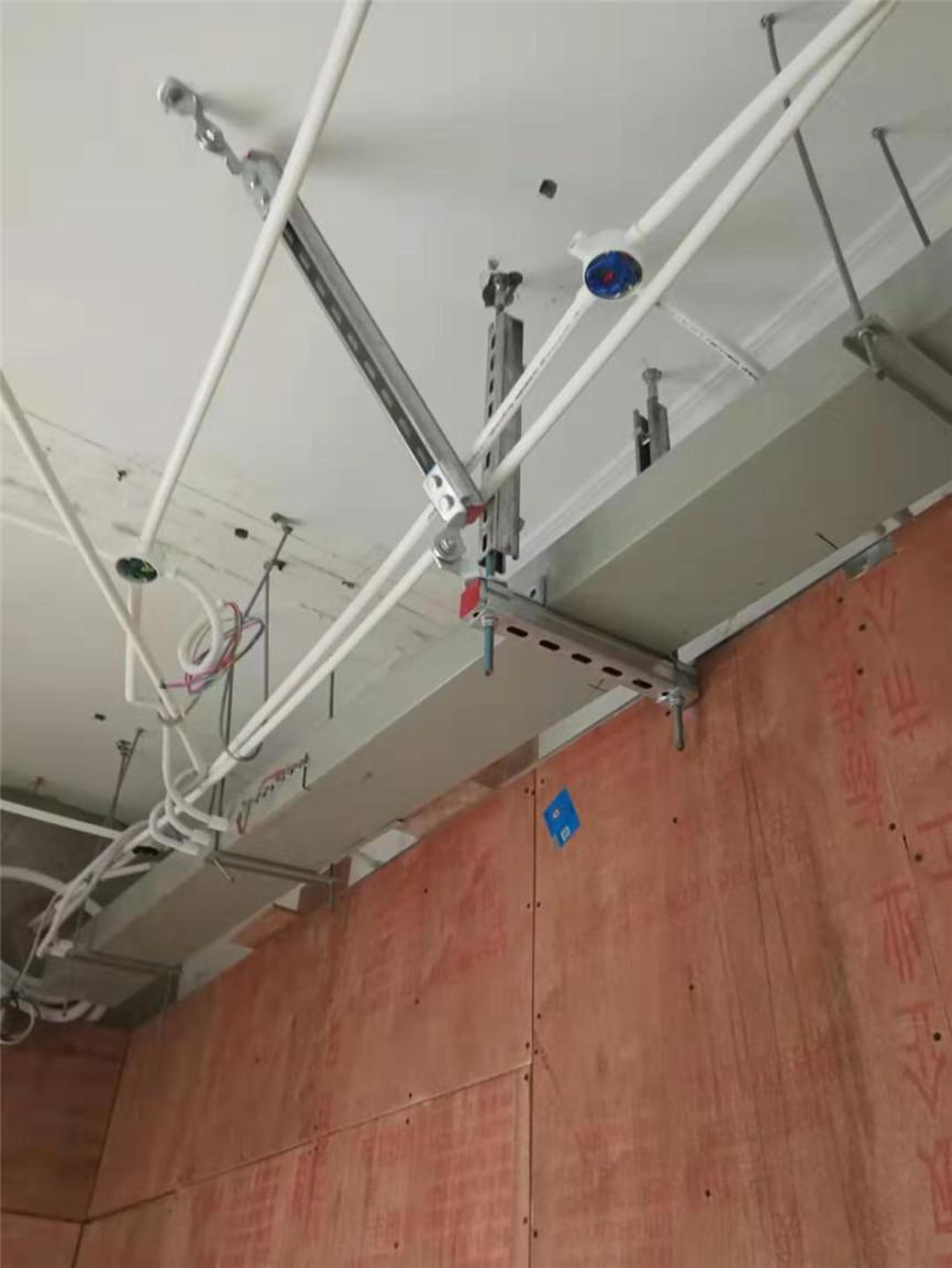 云南省第三人民医院抗震支架项目图片