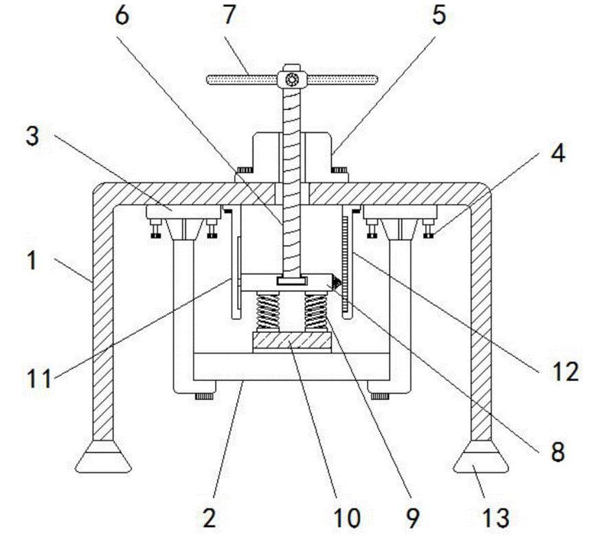 通风系统抗震支吊架横梁的安装图解