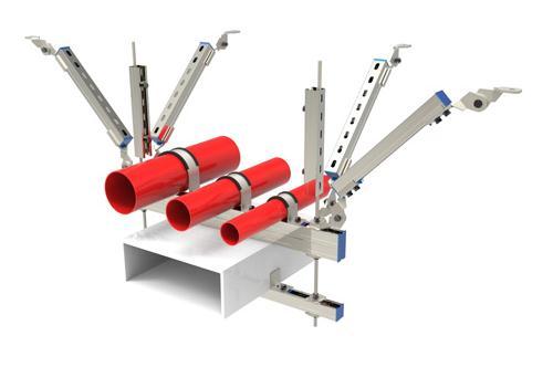 抗震支架能抵御地震作用力