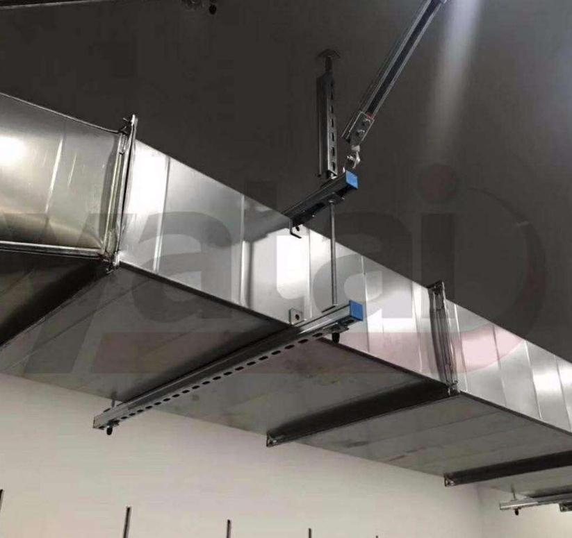 昭通市组合式电缆沟支架安装案例图片