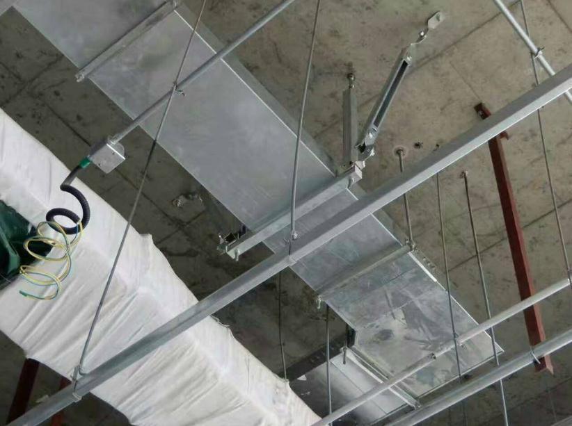 曲靖市桥架抗震支架施工案例图片