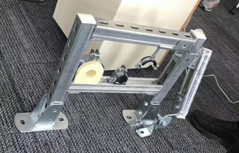 抗震支架使用场景摄图