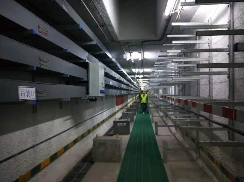 抗震支架在地铁工程中的应用实景拍摄图片