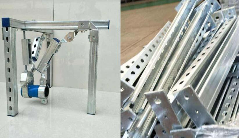 抗震支架与传统支架的对比