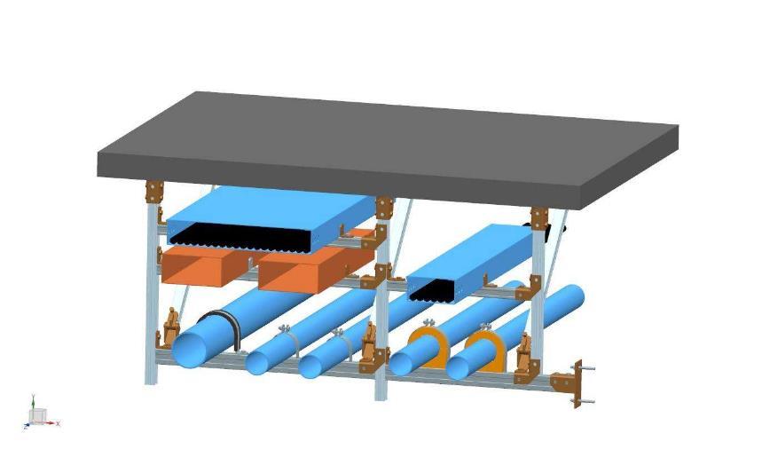 滑动管廊抗震支架