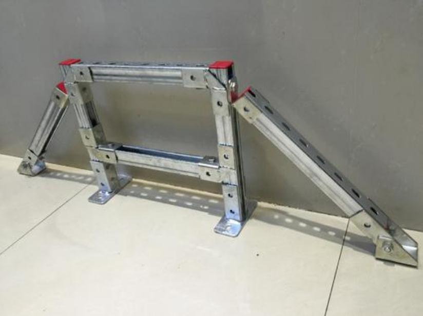 进行过表面处理的成品抗震支吊架