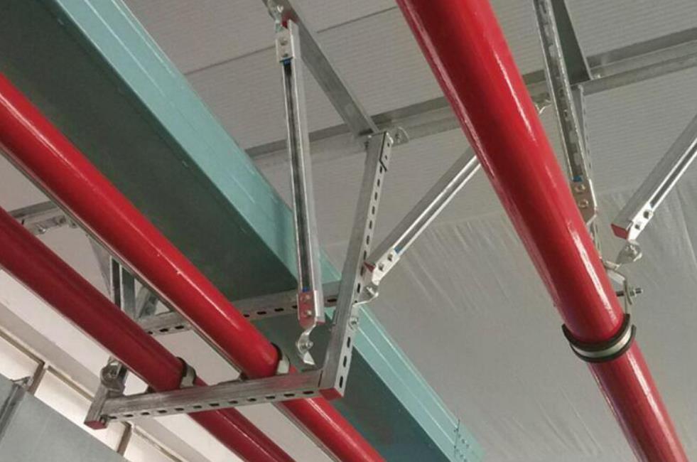 运用在管线系统中的抗震支架