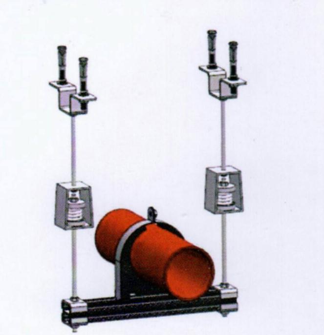 弹簧成品抗震支吊架使用场景摄图