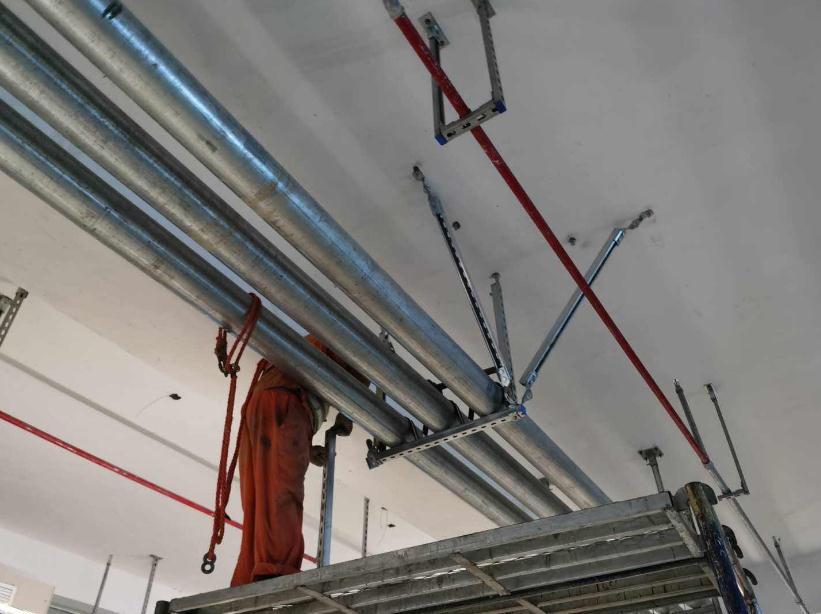 机电安装中需要加装抗震支架的地方