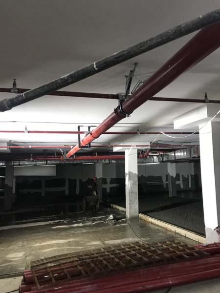 大理州管道抗震支架安装案例图片