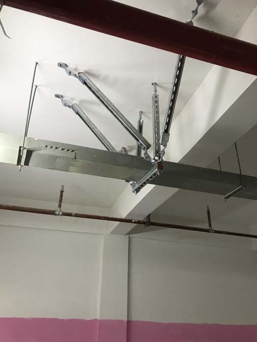 文山州管廊抗震支架研发案例图片