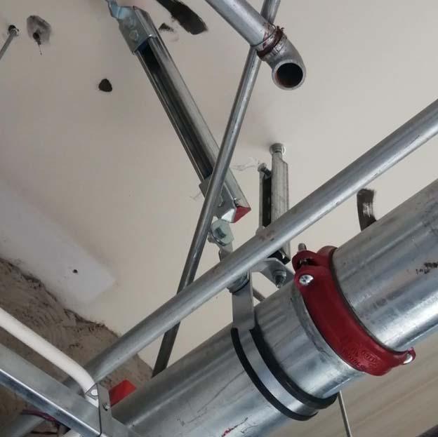 楚雄州暖通抗震支吊架销售案例图片