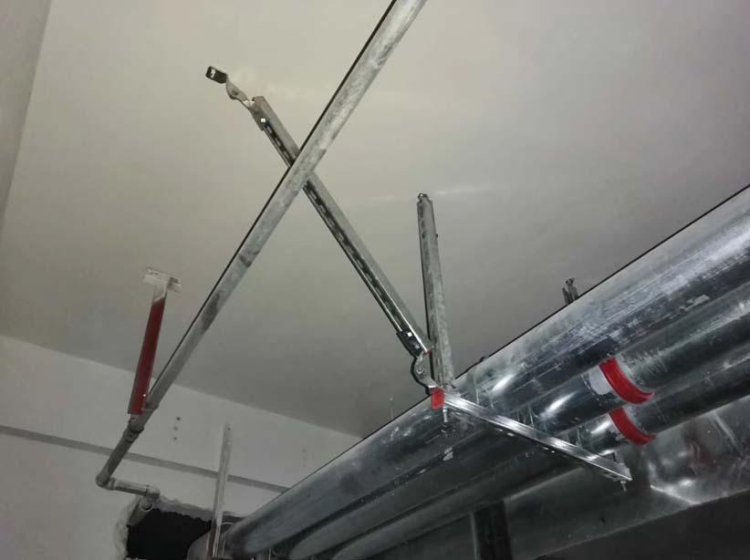 丽江市管道抗震支架生产案例图片